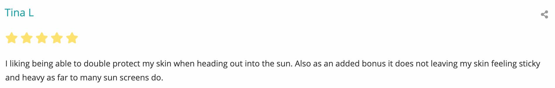 spf-30 sun cream review