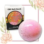 CBD-bath-bomb-rose