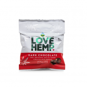 cbd dark chocolate balls